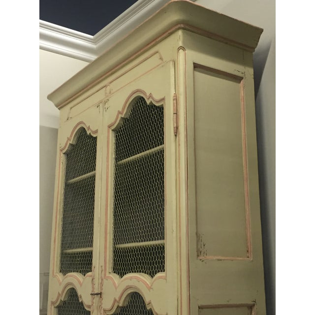Lillian August Antiquaire Asta Hutch For Sale - Image 5 of 7