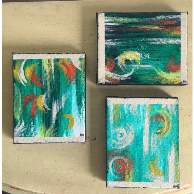 """Imbue"" No. 1, 2 & 3 Modern Series Paintings - Image 6 of 7"