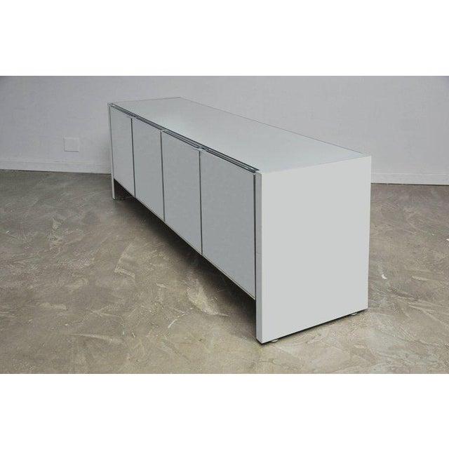 Ello Furniture Ello Mirrored Chrome Credenza For Sale - Image 4 of 5