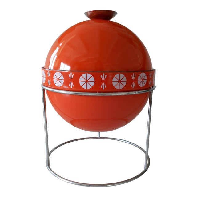 Orange Cathrineholm Soup Tureen - Image 1 of 9