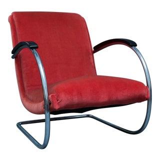 Art Deco Lloyd Lounge Chair For Sale