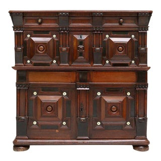 William and Mary Cupboard Chest For Sale