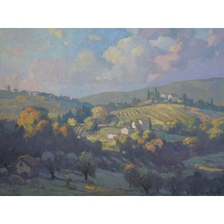 John C. Traynor, Grassy Hills of Tuscany, 2018 For Sale