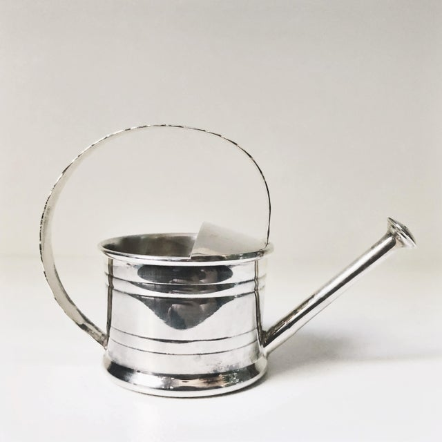 Cartier 1947 Cartier Sterling Silver Watering Can Vermouth Dripper For Sale - Image 4 of 7