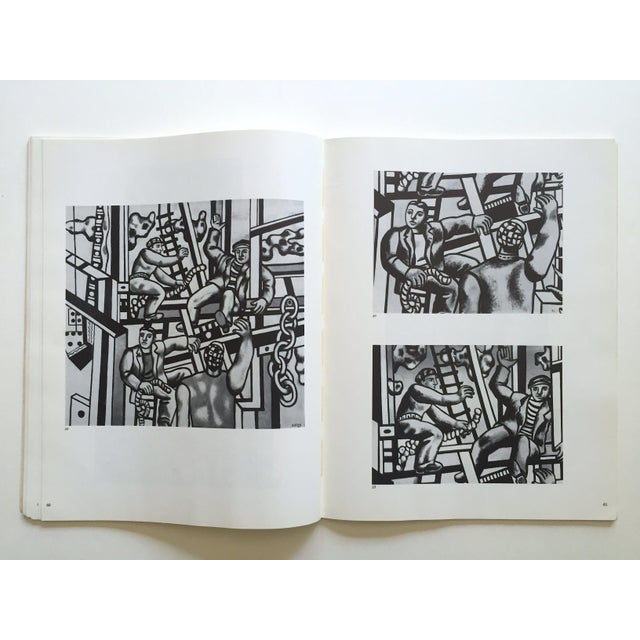 """Fernand Leger Rare Vtg 1962 Lmtd Edtn """" Five Themes & Variations """" Guggenheim Museum Exhibition Catalogue Collector's Art Book For Sale - Image 10 of 13"""