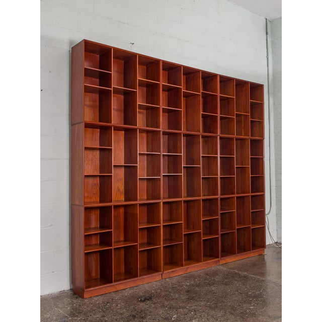 Modular Wall of Stacking Bookcases - Image 8 of 11