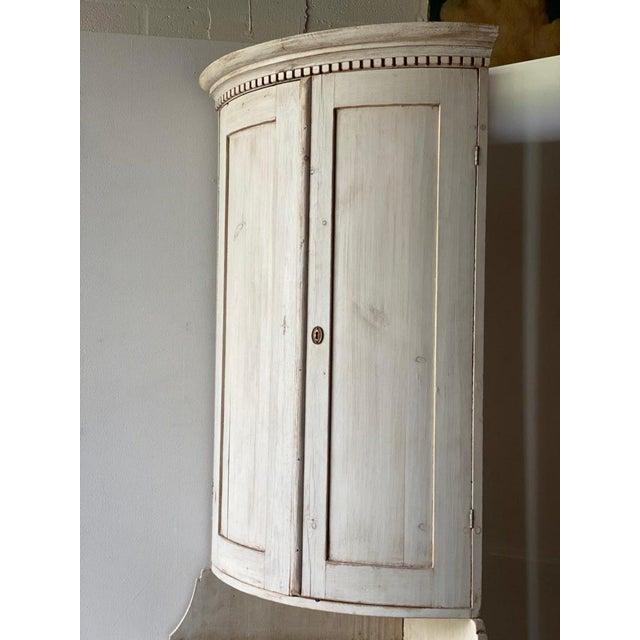 Antique Gustavian Corner Cabinet For Sale - Image 11 of 13