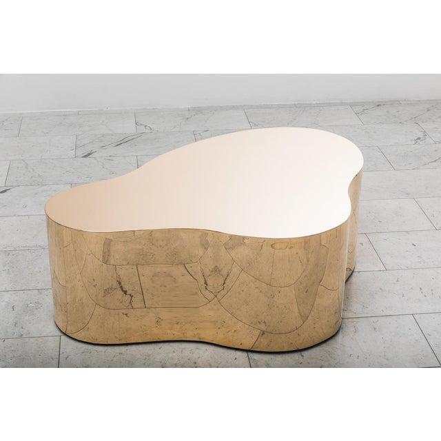 "Bronze Karl Springer LTD, Bronze Free Form Low Table ""C"", USA, 2016 For Sale - Image 7 of 13"