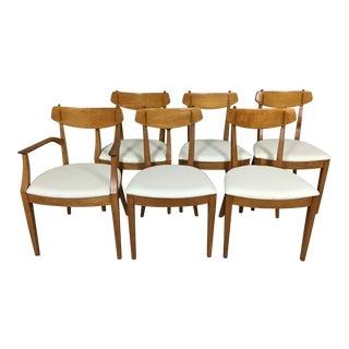 "Set of Drexel ""Sun Coast"" Dining Chairs by Kipp Stewart"