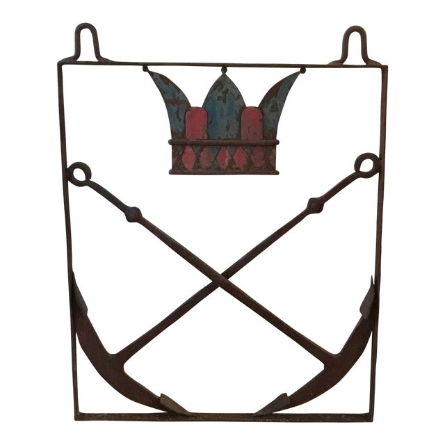 19th Century Nautical Trade Sign For Sale