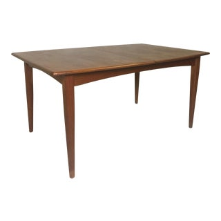 Danish Modern Falster Teak Dining Table From Denmark