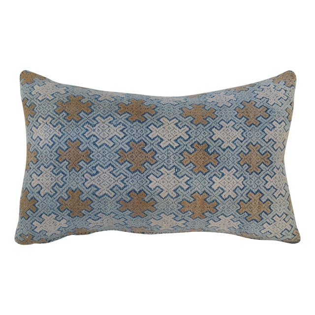 Hill Tribe Silk Embroidered Pillow - Image 1 of 5