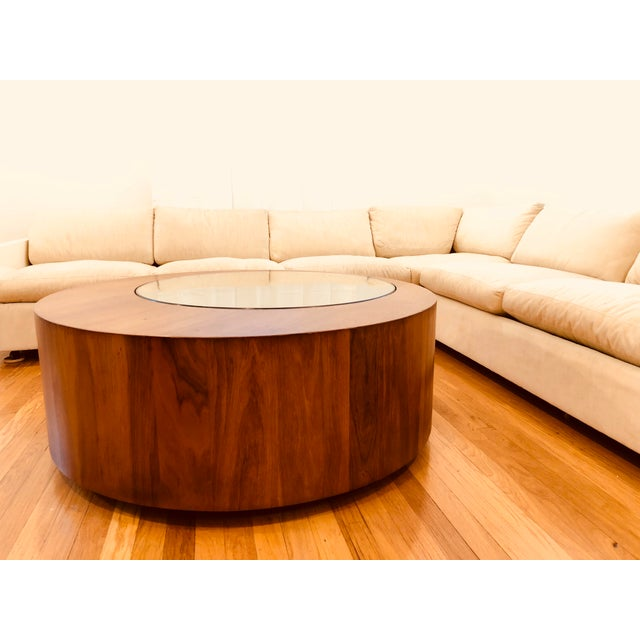 Mid 20th Century Mid Century George Mulhauser for Plycraft Round Coffee Table For Sale - Image 5 of 5