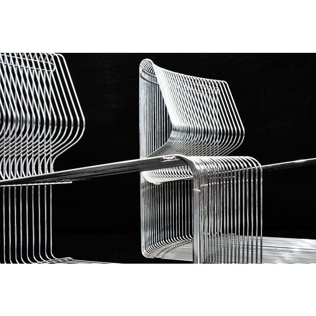 1970s Verner Panton for Fritz Hansen Pantonova Chairs C. 1971 - a Pair For Sale - Image 5 of 8