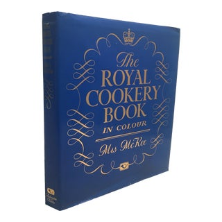 "1989 English Contemporary Book ""The Royal Cookery Book"" by Arlington Books"