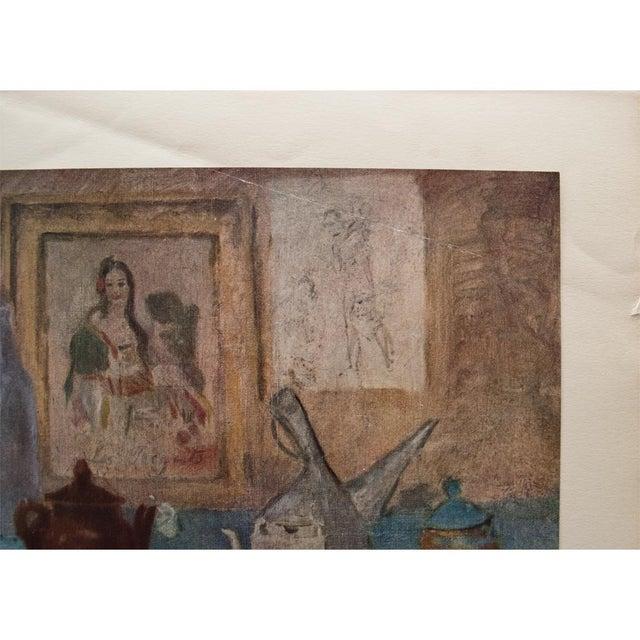 American Classical Original 1948 Picasso Nature Morte Au Tableau Lithograph For Sale - Image 3 of 9