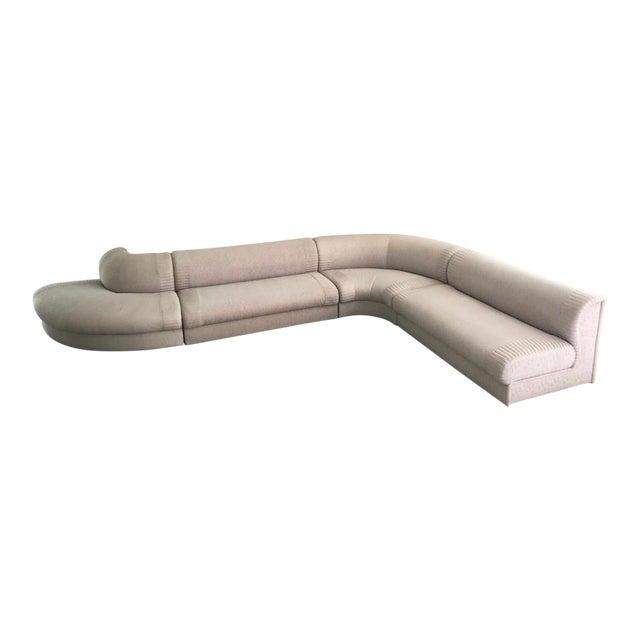 "Post Modern Italian ""Serpentine"" Modular Sectional Sofa by Casa Bella For Sale"
