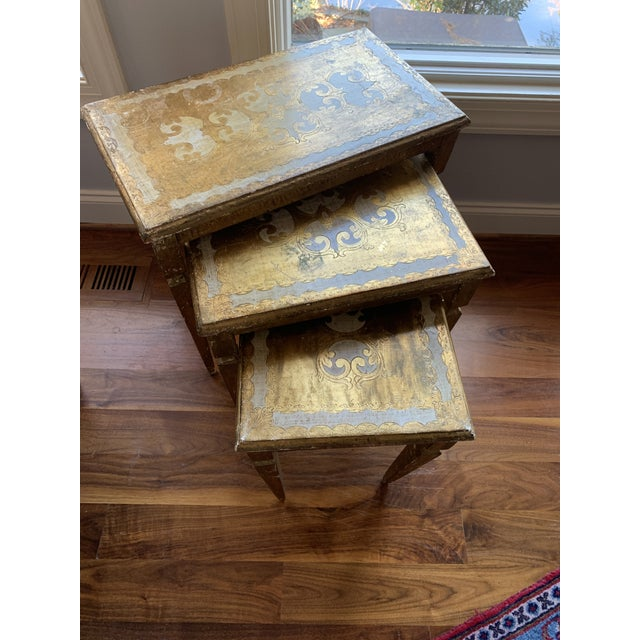 1940s French Nesting Tables - Set of 3 For Sale - Image 11 of 11