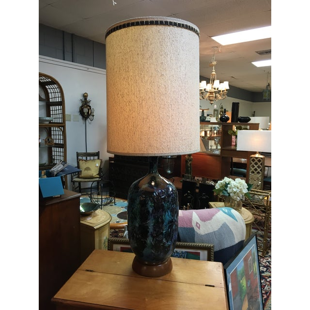 Mid-Century Ceramic Table Lamp For Sale - Image 5 of 5