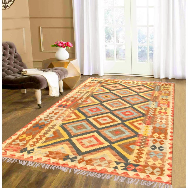 Islamic Vintage Turkish Anatolian Kilim For Sale - Image 3 of 3