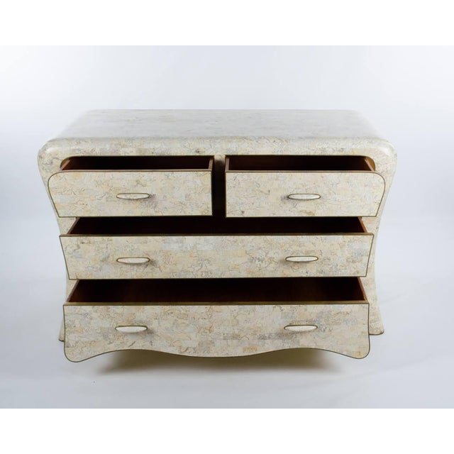 This absolutely stunning marble dresser is more like a piece of art than a piece of furniture! This Mid-Century Maitland-...