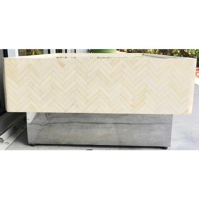 Tessellated Bone Coffee Table - Image 7 of 7