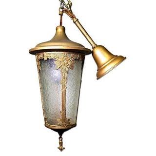 Antique Art Nouveau Lantern Preview