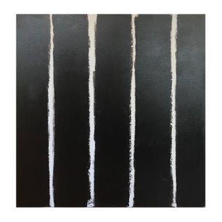 """Sarah Trundle """"Stripes"""" Contemporary Abstract Painting For Sale"""