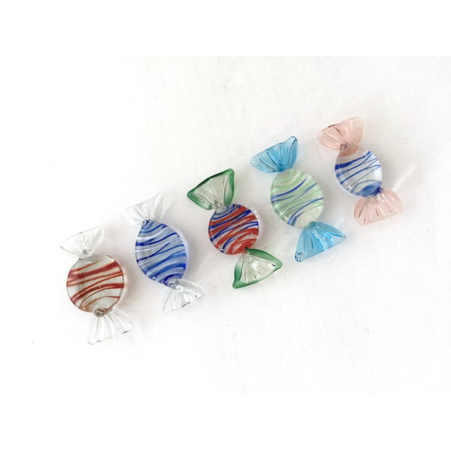 Murano Vintage Murano Italian Glass Candy - Set of 25 For Sale - Image 4 of 8