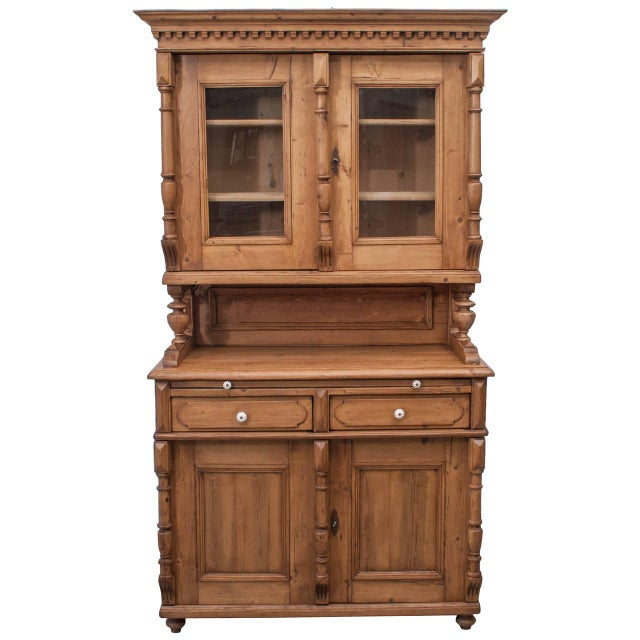 Pine Glazed Buffet For Sale - Image 10 of 10