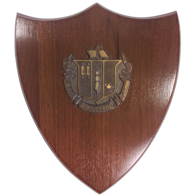1950s Delta Zeta Sorority Wall Plaque - Image 1 of 9