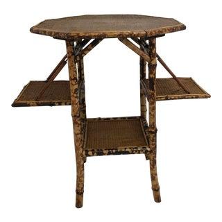 English Tortoise Bamboo Table