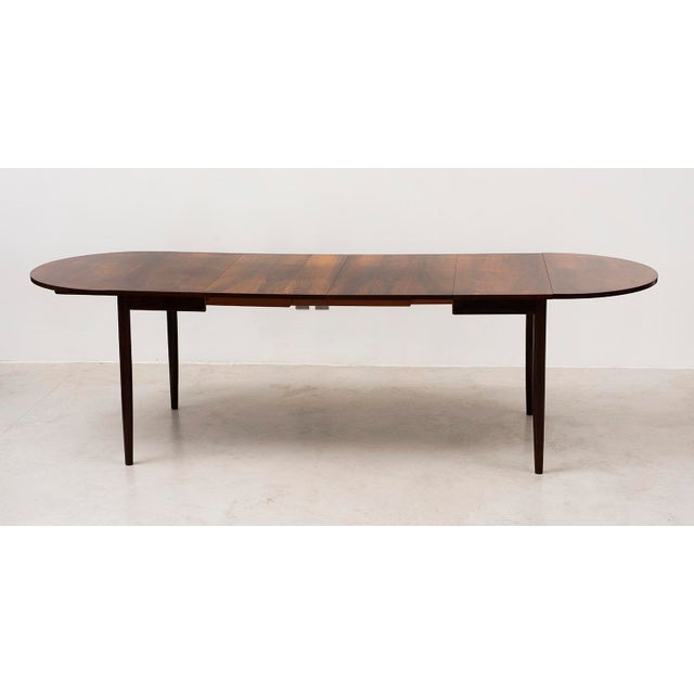 Niels Moller Extending Dining Table in Rosewood, Denmark 1950s For Sale - Image 12 of 12