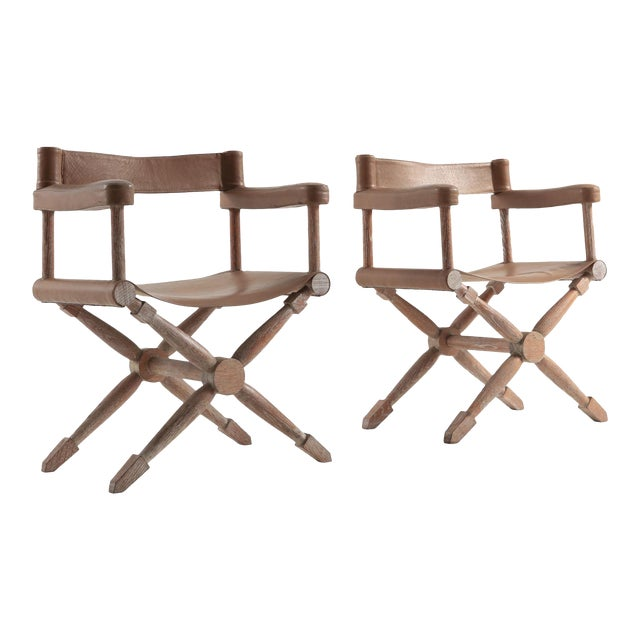 Paul Rodocanachi Art Deco 'Rodo' Chairs for Jean-Michel Frank For Sale