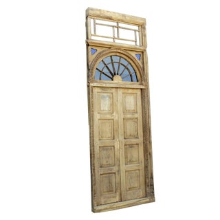 1800's Indo Portuguese Tall Door For Sale