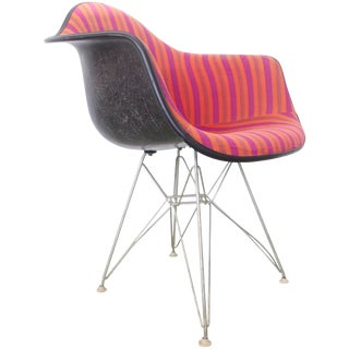 Alexander Girard Eames Armchair With Eiffel Base For Sale