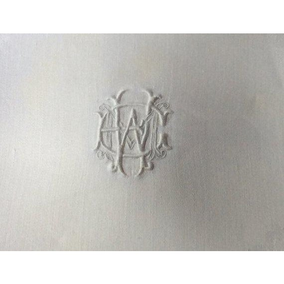 19th Century French Linen Napkins - Set of 12 For Sale - Image 6 of 11