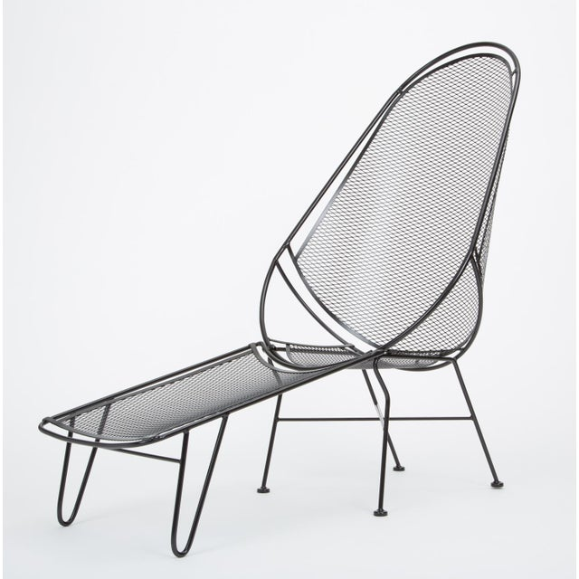 Mid-Century Modern Scoop Lounge Chair With Ottoman by Maurizio Tempestini for Salterini For Sale - Image 3 of 13