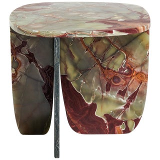 Red Green Onyx Coffee Table by Oskar Peet and Sophie Mensen For Sale