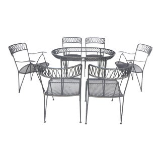 1950s Vintage Maurizio Tempestini for Salterini Dining Set - 7 Pieces For Sale