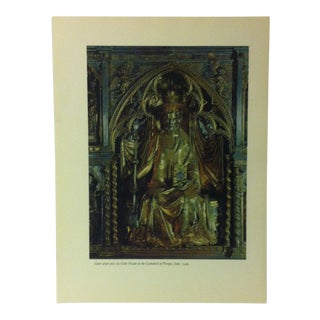 """1957 """"Silver Altar Piece"""" by Cilio Pisano the Influence of the Shell on Humankind Print For Sale"""