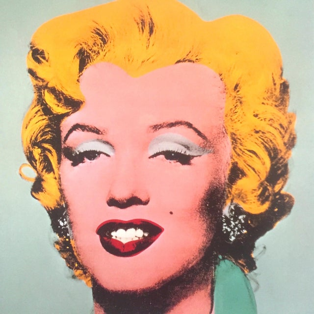 """Andy Warhol Estate Rare Vintage 1989 Collector's Pop Art Lithograph Print """" Marilyn """" 1964 For Sale In Kansas City - Image 6 of 10"""