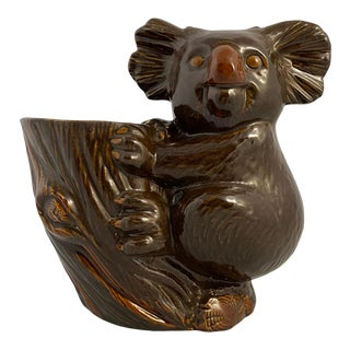Haeger Koala Planter Brown For Sale