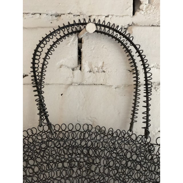 Boho Chic Wire Art Bag For Sale - Image 3 of 10