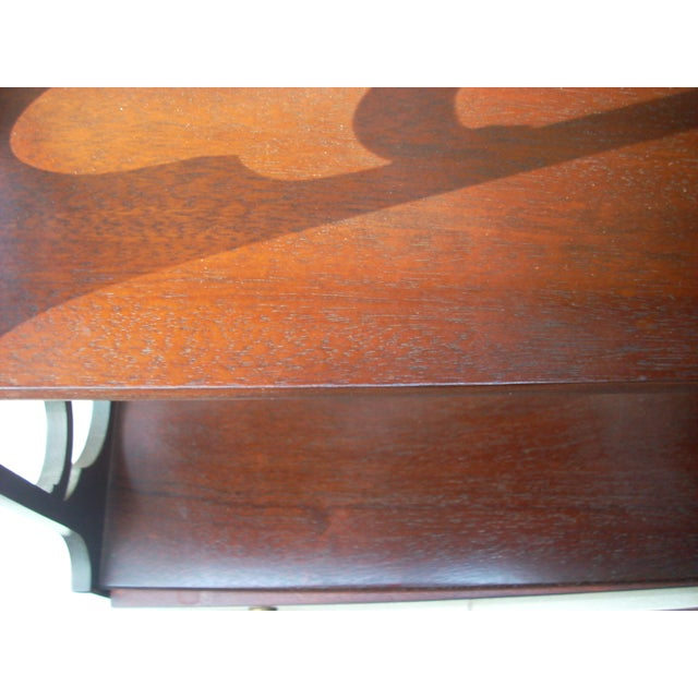 Mahogany Hanging Wall Shelf For Sale - Image 7 of 7