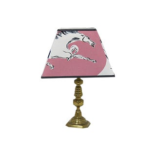 Vintage Pierre Frey & Vincent Darrè Lamp / Pendant Shade For Sale
