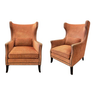 Bernhardt Kingston Custom Chairs - a Pair For Sale