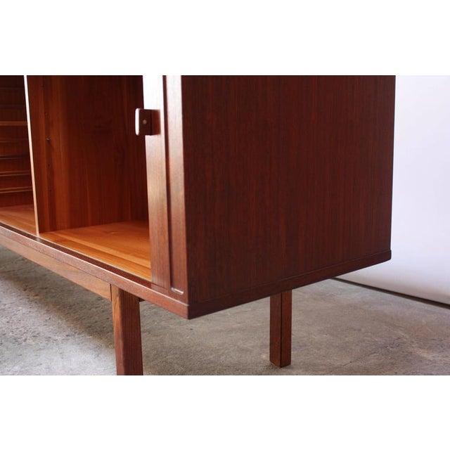 Danish Teak Sideboard with Tambour Doors by Peter Løvig Nielsen - Image 9 of 10