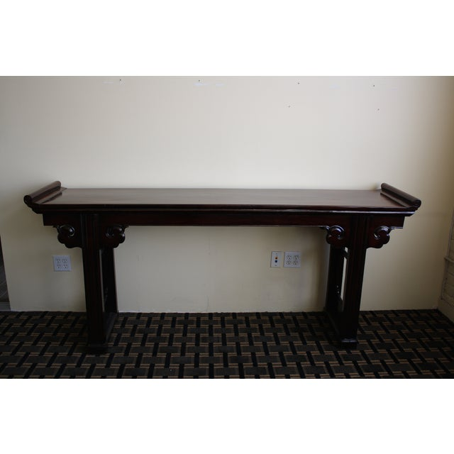 McGuire Asian Antiquity Long Altar Table - Image 2 of 7