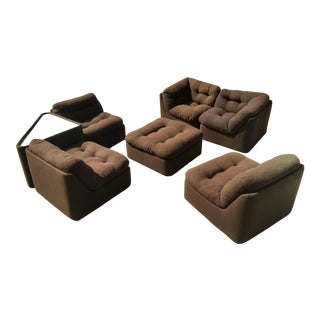 1970s Modular Sofa Sectional